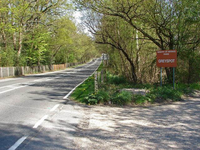 Greyspot Range entrance, Red Road
