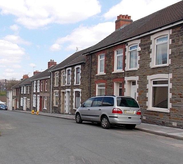 Pengam Street, Glan-y-nant by Jaggery