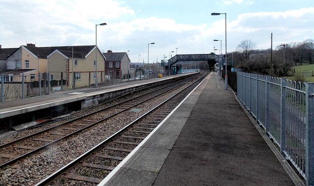 NE side of Pengam railway station by Jaggery
