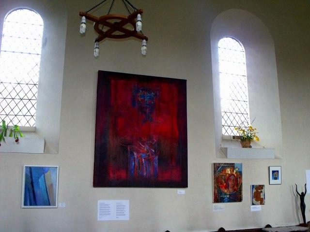 Art exhibition, St. Laurence, Falmer