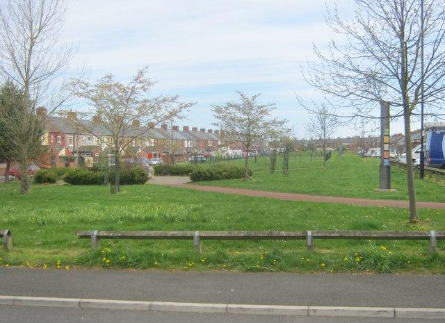 New Herrington Doorstep Green