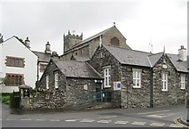 SD3598 : St Michael's, Hawkshead by Nigel Thompson