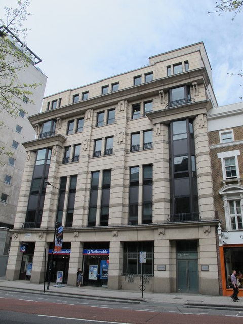 Site of the (former) British Museum tube station, High Holborn, WC1