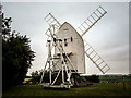TL4138 : Great Chishill Windmill by Kim Fyson