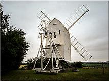 TL4138 : Great Chishill Windmill by Kim Fyson