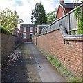SO8885 : Laburnum Street alley by David P Howard