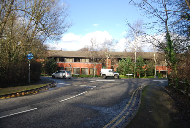 Woolsack Way, Catteshall Lane junction by N Chadwick