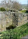 SE0120 : Trough on Ripponden Footpath 10 by Humphrey Bolton