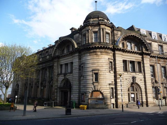 Sheffield: former main post office