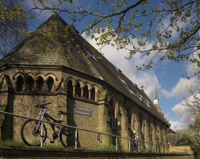 Former chapel, Royal Victoria Patriotic Asylum