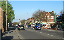 SK5838 : May Day morning in Radcliffe Road by John Sutton