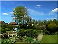 ST8661 : North-east across Courts Gardens, Holt, Wiltshire by Brian Robert Marshall