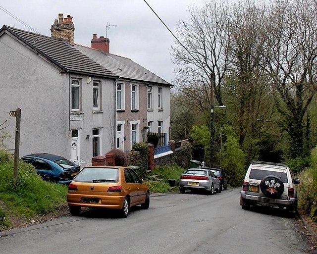 Yew Tree Cottages, Gelligaer