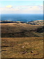 SC3988 : View Towards Laxey from Snaefell Summit by David Dixon