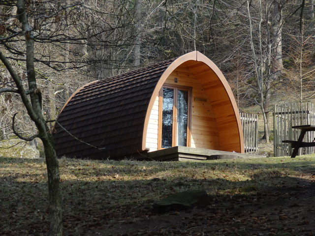 Eco pod near Rydal Hall
