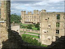 SK4663 : Hardwick Hall from the Old Hall by Nigel Thompson