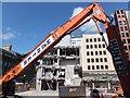 NS5965 : Hunter Demolition at work by Barbara Carr