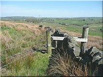 SE0120 : Stile on Ripponden Footpath 9 by Humphrey Bolton
