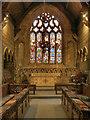 SJ8476 : St Mary's Church, Chancel and East Window by David Dixon