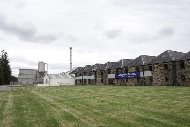 Glentauchers distillery