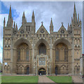 TL1998 : Cathedral Church of St Peter, St Paul and St Andrew, Peterborough by David P Howard