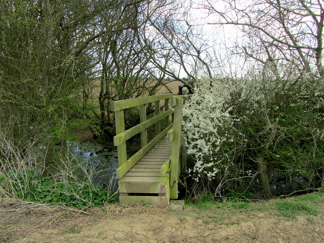 Yet Another Footbridge on the path to Johnson's Corner