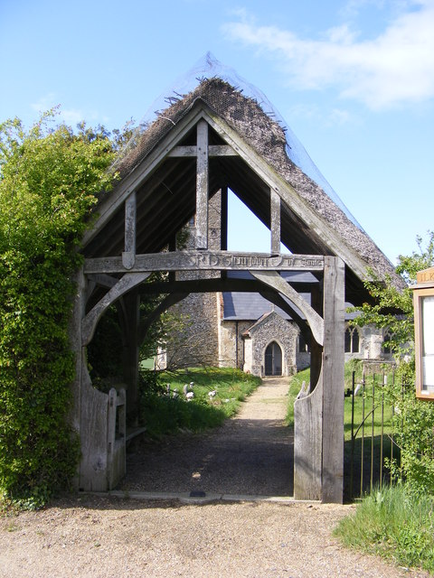 Lych Gate of St.Lawrence Church