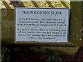 NY3239 : The Roughton Stone, Caldbeck by wfmillar