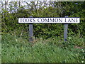 TM3886 : Tooks Common Lane sign by Adrian Cable