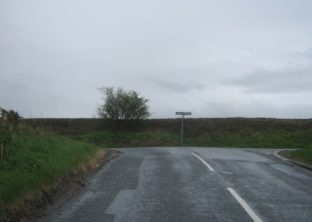 The road from New Brancepeth joining Pit Lane