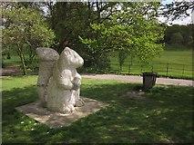 TQ3870 : Squirrel sculpture, Beckenham Place Park by Derek Harper
