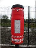 H4473 : Emergency throwing line, Strathroy by Kenneth  Allen