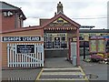 ST1628 : The entrance to Bishops Lydeard Station by Robin Drayton