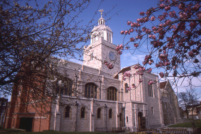 Portsmouth Cathedral, 1989