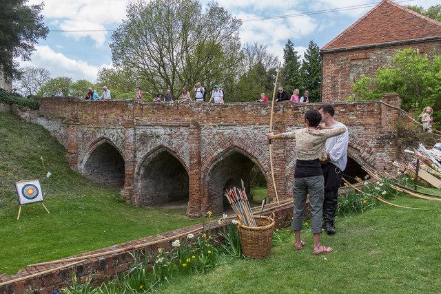 Archery, Castle Hedingham, Colne Valley, Essex