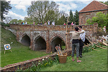 TL7835 : Archery, Castle Hedingham, Colne Valley, Essex by Christine Matthews