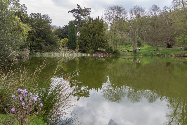 Lake, Castle Hedingham, Colne Valley, Essex
