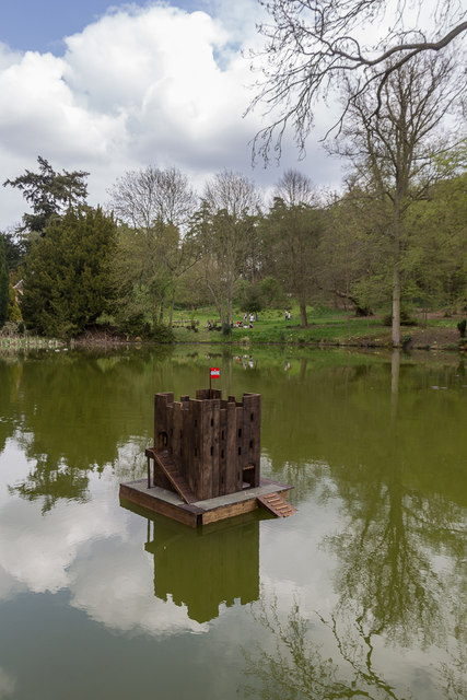 Duck House, Lake, Castle Hedingham, Colne Valley, Essex