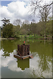 TL7835 : Duck House, Lake, Castle Hedingham, Colne Valley, Essex by Christine Matthews