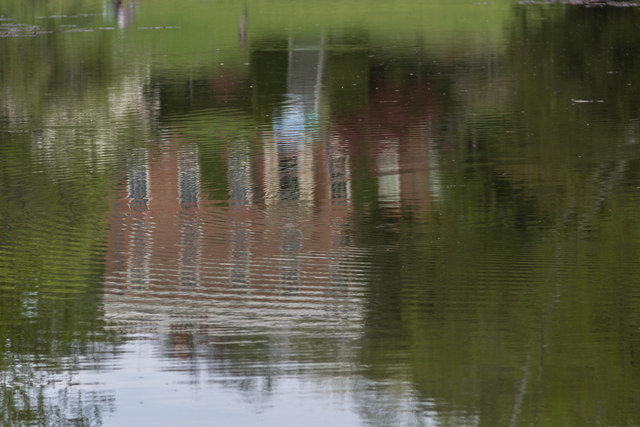 Reflections, Lake, Castle Hedingham, Colne Valley, Essex