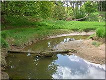 NT6378 : East Lothian Geomorphology : Old Pipe Meander, Hedderwick Burn by Richard West