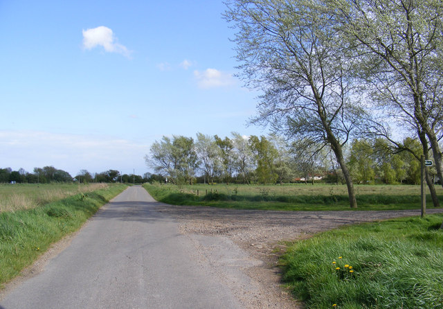 Great Common Lane & the footpath to the A144 Stone Street