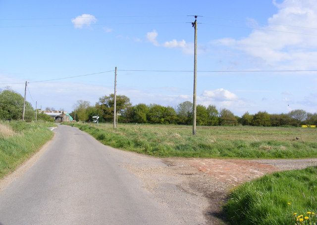 Great Common Lane & footpath to Top Road