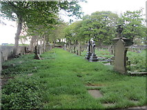 SE1223 : St Anne's Graveyard - Church Lane by Betty Longbottom