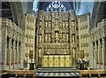 NZ2564 : High Altar and Reredos St. Nicholas Cathedral, Newcastle upon Tyne by Derek Voller