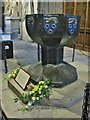 NZ2464 : The Font St. Nicholas Cathedral,  Newcastle upon Tyne by Derek Voller