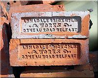 J3271 : Bricks, Belfast by Rossographer