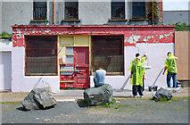 J5081 : Former Barber's Shop, Bangor by Rossographer