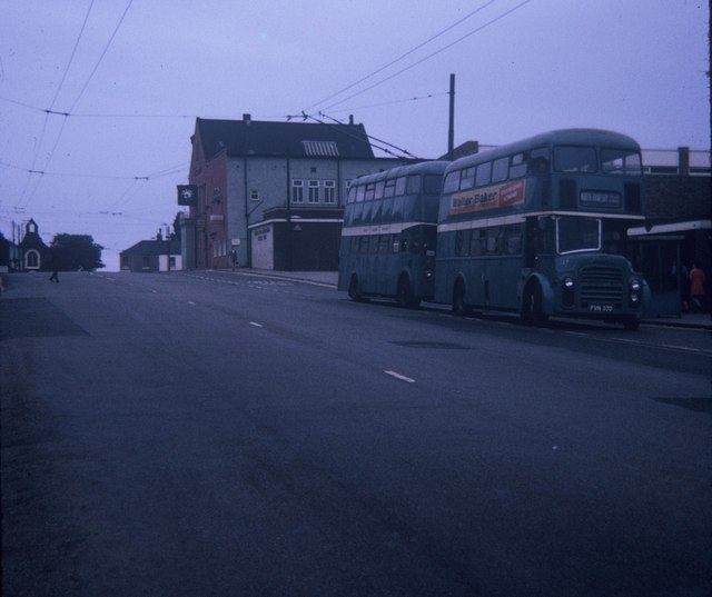 Two Buses in High Street, Eston