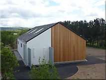 NT6578 : Coastal East Lothian : New Toilet Block At The John Muir Country Park by Richard West